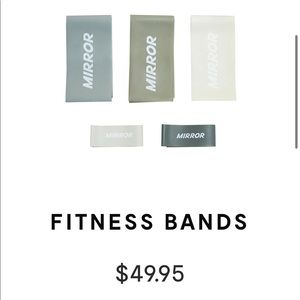 Mirror Fitness resistance bands